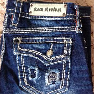 Rock Revival Kai Boot Jeans
